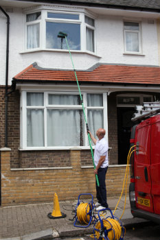 professional window cleaners Warlingham